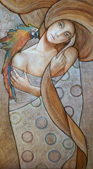 Joanna Misztal,  W zimne dni myślę o kolorach