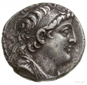 tetradrachma 126-125 pne, mennica Tyr; Aw: popiersie De...