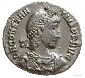 silikwa ok. 351-355, Konstantynopol; Aw: Popiersie cesa...