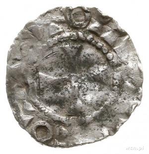 naśladownictwo denara typu kolońskiego z końca X w.; Aw...