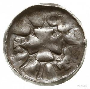 jednostronny denar krzyżowy ze świątynią; Krzyż kawaler...