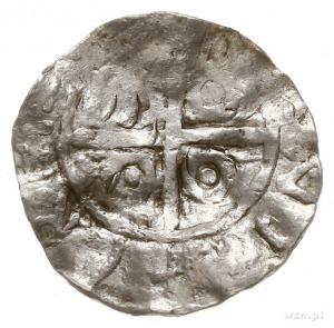 denar typu princes polonie, odmiana zbarbaryzowana; Aw:...