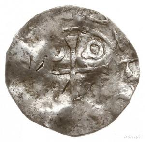 Wielkopolska, naśladownictwo denara ratyzbońskiego; Aw:...