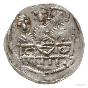 denar z lat 1157-1166; Aw: Popiersie księcia na wprost ...