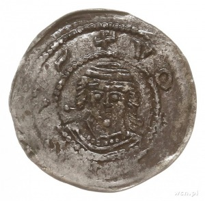 denar z lat 1239-1249, Gniezno; Aw: Rycerz z mieczem na...