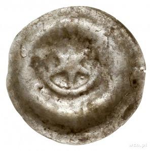 brakteat, przełom XIII-XIV w.; Gwiazda sześcioramienna ...