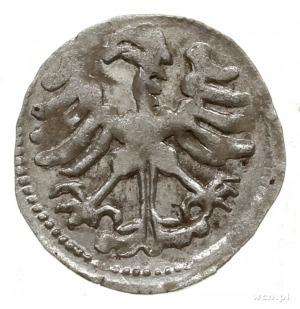 denar, Wilno; Aw: Orzeł heraldyczny na wprost z głową w...