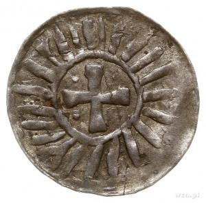 naśladownictwo denara krzyżowego z końca X w. lub począ...