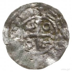 jednostronne naśladownictwo saskich denarów Ottona III;...