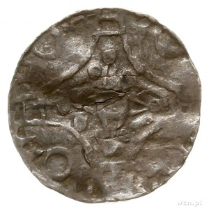 naśladownictwo denarów Svena Estridsena mennicy Roskild...