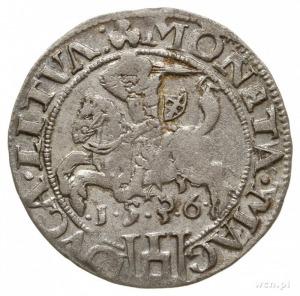grosz na stopę litewską 1536 I, Wilno, odmiana z literą...