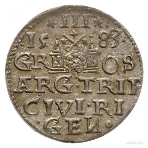 trojak 1583, Ryga; Iger R.83.1.d (R1), Gerbaszewski 3; ...