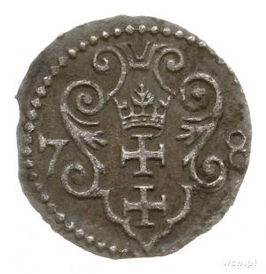 denar 1578, Gdańsk; CNG -, Kop. 7414 (R5), Tyszk. 20 Mk...