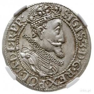 ort 1615, Gdańsk, na awersie duża głowa króla, brak kro...