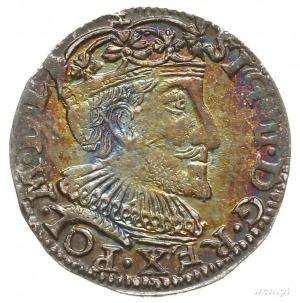 trojak 1592, Olkusz, na rewersie pełna data kończy napi...