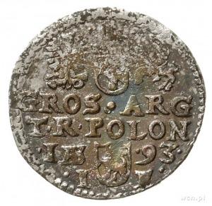 trojak 1593, Olkusz, Iger O.93.5.b/c (R)