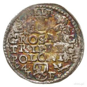 trojak 1594, Poznań; Iger P.94.2.-/e, nienotowana odmia...