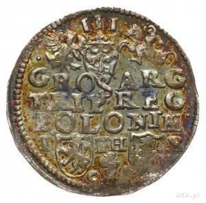 trojak 1597, Poznań; Iger P.97.3.b; bardzo ładny