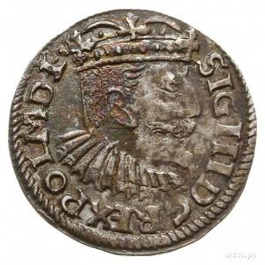 trojak 1595, Bydgoszcz, na awersie POL M D L, odmiana z...
