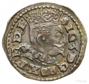 trojak 1596, Lublin; Iger L.96.5.a (R), dość ładnie zac...