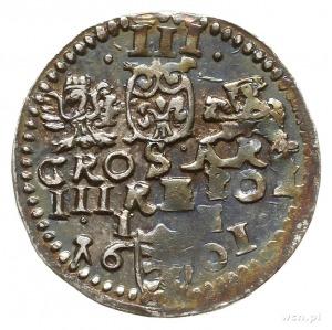 trojak 1601, Lublin; Iger L.01.1.-/a, nienotowany waria...