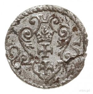 denar 1595, Gdańsk; CNG 145.VI, Kop. 7461 (R2); piękny