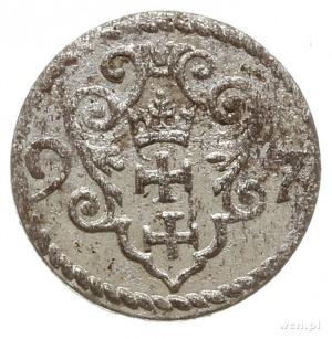 denar 1597, Gdańsk; CNG 145.VIII, Kop. 7463 (R2); piękn...