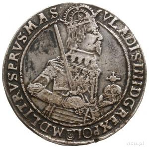 talar 1633, Bydgoszcz; Aw: Półpostać króla, niżej, po w...