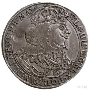 talar 1643, Bydgoszcz, Aw: Popiersie króla w prawo i na...