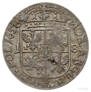 ort 1658 TLB, Kraków, popiersie podobne do króla szwedz...