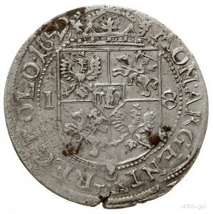 ort 1659, Kraków, na rewersie herb Wieniawa i prosta ta...