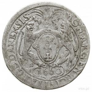 ort 1660, Gdańsk, popiersie króla bez rękawa; CNG 288.I...