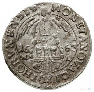 ort 1663, Toruń, popiersie z orderem Św. Ducha; CNCT 16...