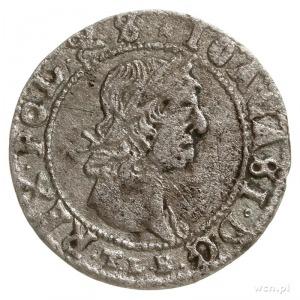 trojak 1665, Wilno, na awersie końcówka POL & S; Iger V...