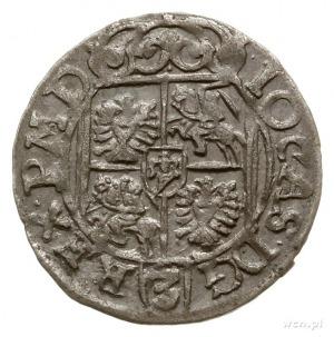 półtorak 1662, Poznań, odmiana z skróconą datą 6-2 po b...