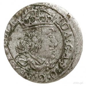 grosz 1652, Wilno, odmiana z rzymską cyfrą I i herbem G...