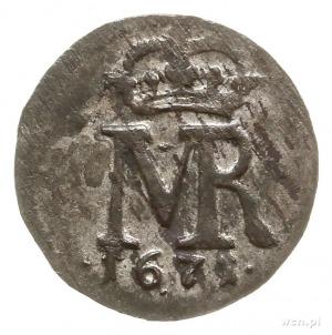 szeląg 1671, Toruń; CNCT 1741; piękny
