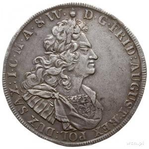 talar 1720, Drezno, Aw: Popiersie w prawo i napis wokoł...