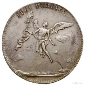 2/3 talara (gulden zaślubinowy) 1747, Drezno, Aw: Napis...