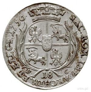 ort 1756, Lipsk; Kahnt 689 var. e - masywne popiersie, ...