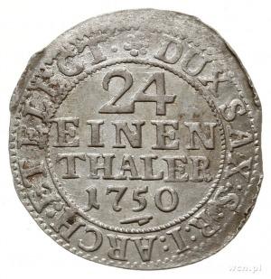 1/24 talara 1750 FWôF, Drezno; Kahnt 580; lekko niecent...