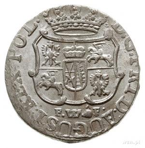 1/24 talara 1756 FWôF, Drezno; Kahnt 580; moneta z pięk...