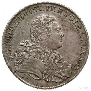 talar 1763, Drezno, Aw: Popiersie z literą S i wokoło n...