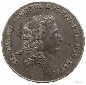 talar 1776, Warszawa, z końcówką napisu LITU; srebro 28...