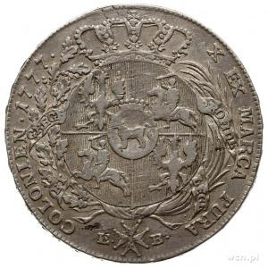 talar 1777, Warszawa, odmiana z końcówką napisu LITH; s...