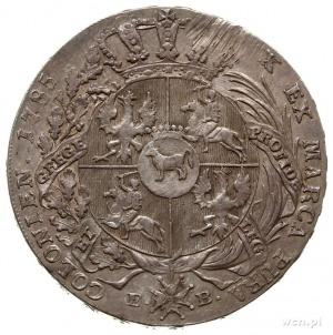 talar 1785, Warszawa; srebro 27.92 g; Plage 406, Dav. 1...