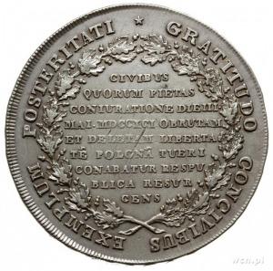 """talar historyczny zwany """"Targowickim"""" 1793, Grodno; sre..."""