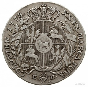póltalar 1778, Warszawa; Plage 364, Berezowski 10 zł; m...