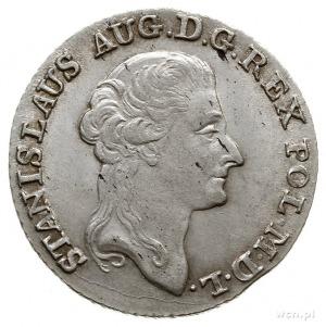 złotówka 1793, Warszawa; Plage 301; drobne mennicze wad...