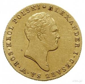 25 złotych 1819, Warszawa; złoto 4.88 g; Plage 14, Bitk...